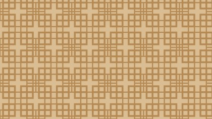 Brown Geometric Square Pattern Vector Image