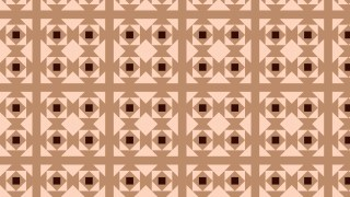 Brown Seamless Square Pattern Background Vector Art