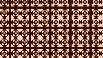 Brown Seamless Square Background Pattern Graphic