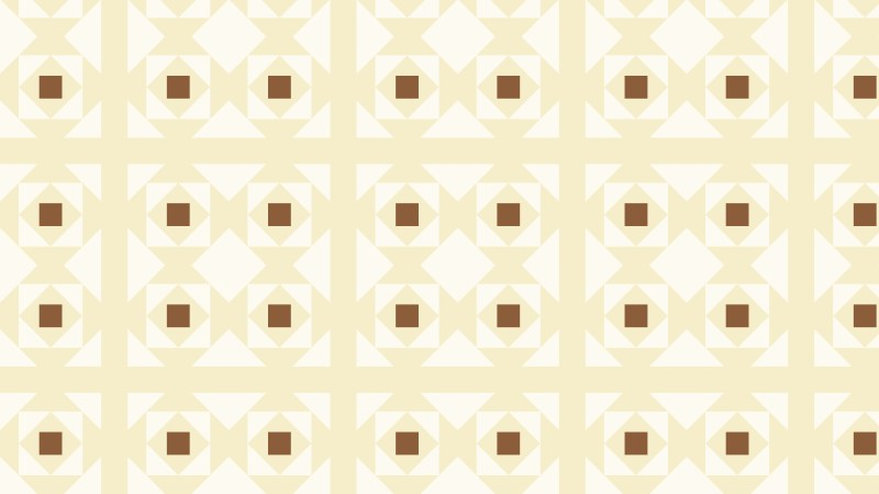 Light Brown Seamless Geometric Square Pattern Background Design
