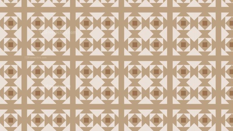 Brown Geometric Square Pattern Background