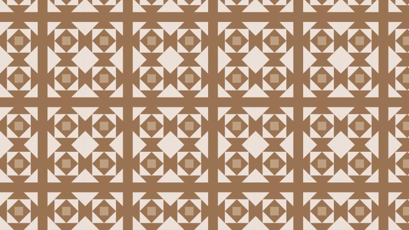 Brown Geometric Square Background Pattern