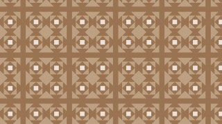 Brown Seamless Square Pattern
