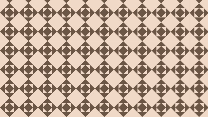 Brown Seamless Square Pattern Background