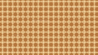 Brown Square Pattern Illustrator