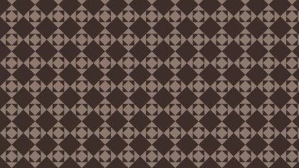 Dark Brown Square Pattern Background Vector Illustration