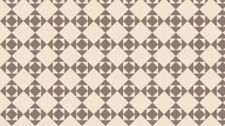 Brown Geometric Square Pattern Vector Art