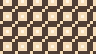 Brown Geometric Square Background Pattern Illustration