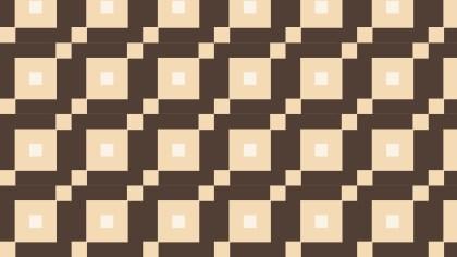 Brown Geometric Square Background Pattern Illustration