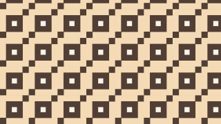Brown Seamless Square Pattern Design