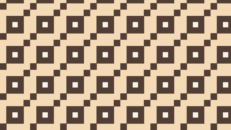 Brown Seamless Square Pattern Design