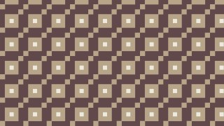 Brown Seamless Geometric Square Pattern Background Illustrator
