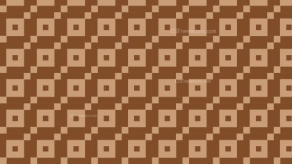 Brown Geometric Square Pattern Background