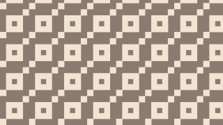 Brown Seamless Geometric Square Pattern
