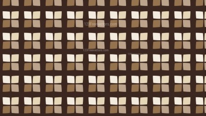 Brown Square Pattern Graphic