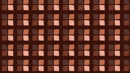 Dark Brown Square Pattern Background Illustration