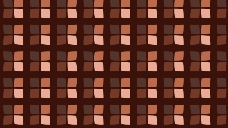 Dark Brown Square Pattern Background Illustration