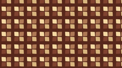 Brown Square Background Pattern Design