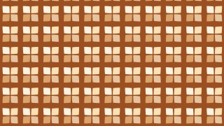 Brown Geometric Square Pattern Image