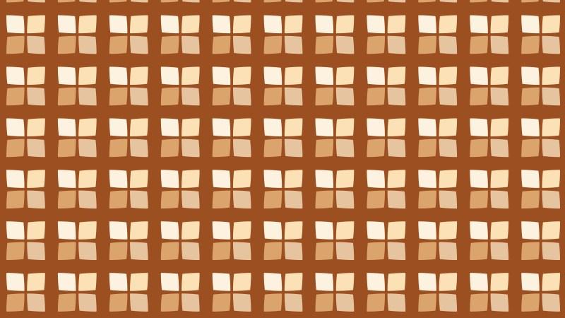 Brown Geometric Square Pattern Image