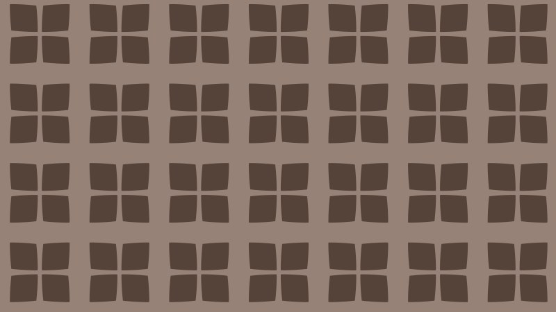 Brown Geometric Square Background Pattern Vector Image
