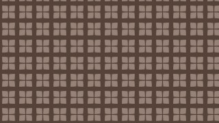 Brown Seamless Square Pattern Illustrator