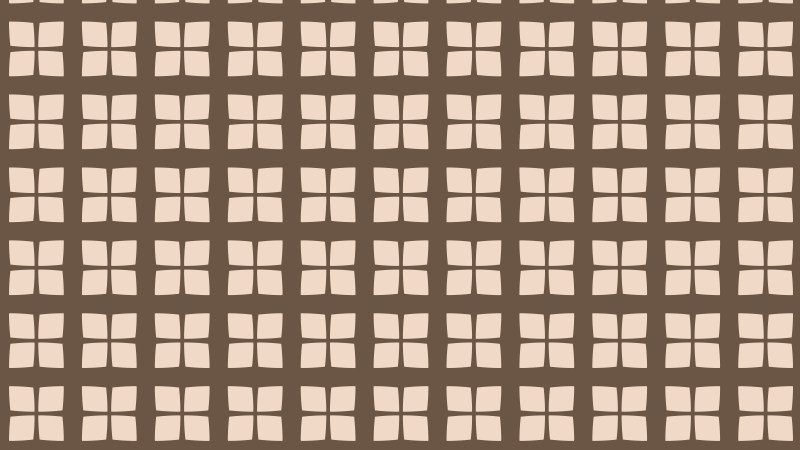 Brown Seamless Square Pattern Background Vector Illustration