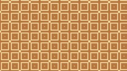 Brown Seamless Geometric Square Pattern Background Graphic