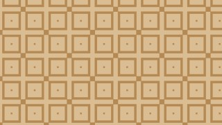Brown Seamless Geometric Square Background Pattern Illustration