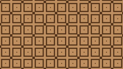 Brown Square Pattern Background