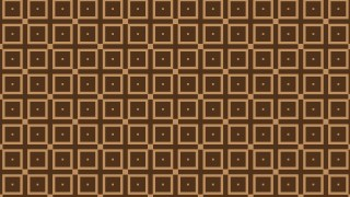 Dark Brown Square Background Pattern