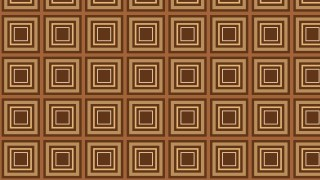 Brown Concentric Squares Pattern Background Vector Image