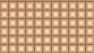 Brown Concentric Squares Background Pattern Illustrator