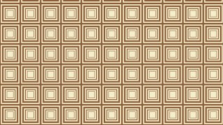 Brown Seamless Concentric Squares Background Pattern Vector Art