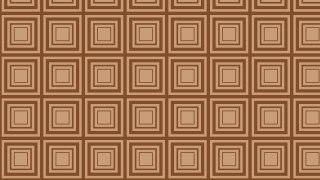 Brown Seamless Concentric Squares Pattern