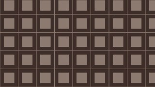 Dark Brown Geometric Square Pattern