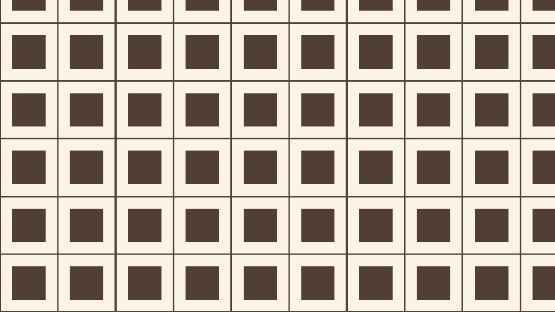 Brown Geometric Square Background Pattern