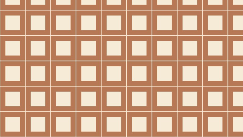 Brown Seamless Square Background Pattern