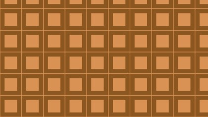 Brown Seamless Geometric Square Background Pattern