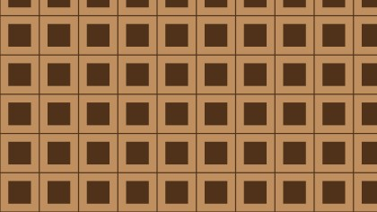 Brown Square Pattern Vector Graphic