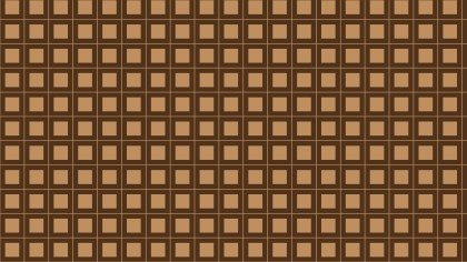 Brown Square Pattern Background Vector Image