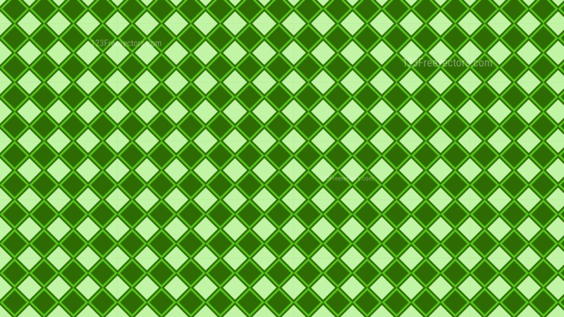 Green Square Background Pattern Illustrator
