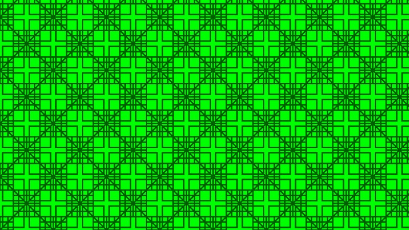 Neon Green Geometric Square Background Pattern