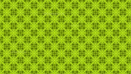Green Seamless Square Pattern