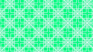 Spring Green Seamless Geometric Square Pattern Background