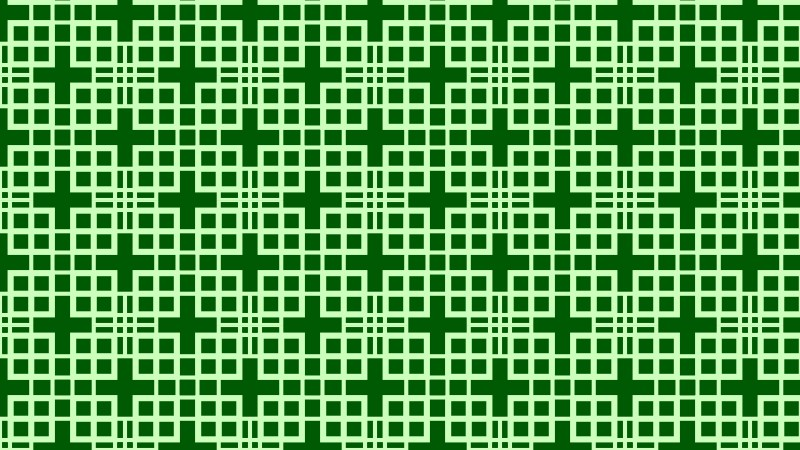 Green Square Pattern Vector