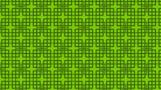 Green Geometric Square Pattern Illustration