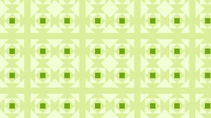 Light Green Geometric Square Pattern Background