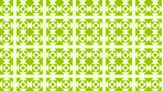 Light Green Seamless Square Pattern