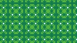 Green Square Pattern Design